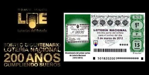 Lotería Nacional de España - Sorteo Bicentenario