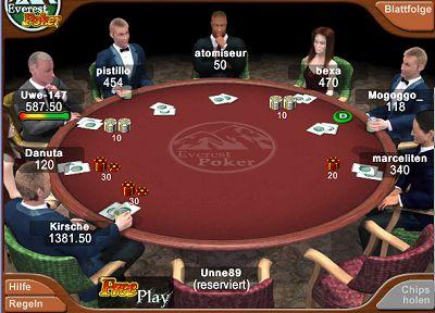 Minijuegos casino poker